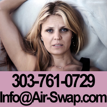 Sleepless woman with a hot bedroom, and freezing cold air in the basement. 303-761-0729